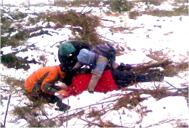 Examining an injured and Hypothermic patient